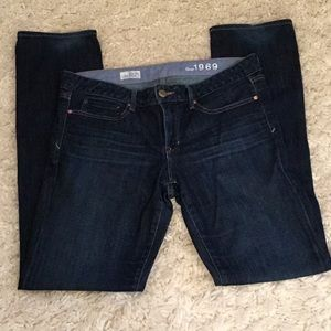 Gap 1969 Real Straight Jeans.    Dry Cleaned Only